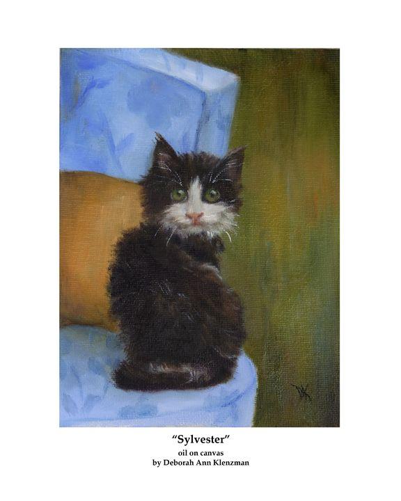 "Art Print of ""Sylvester"" - Progressive Portraits by Deborah Ann Klenzman"