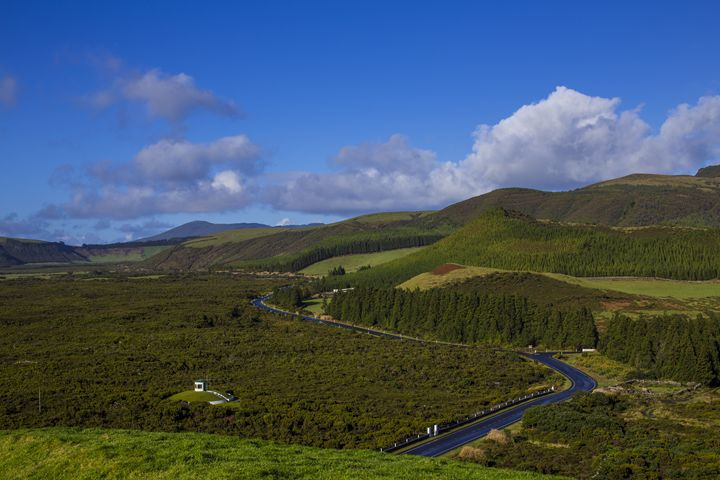 Rolling Island Hills of Terceira - HT Images