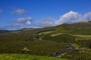 Rolling Island Hills of Terceira