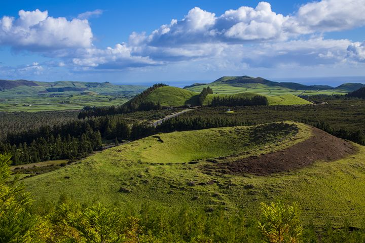 Extinct Volcano in the Azores - HT Images
