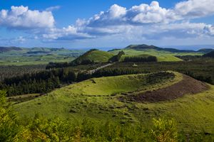 Extinct Volcano in the Azores