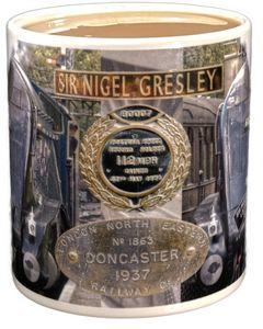Sir Nigel Gresley A4 60007 mug