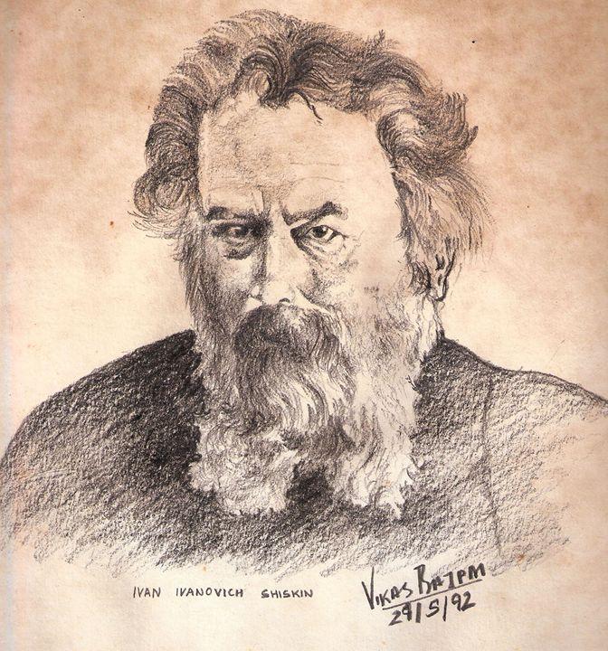 Russian Artist Ivan Ivanovic Shiskin - Dr Vikas Bajpai
