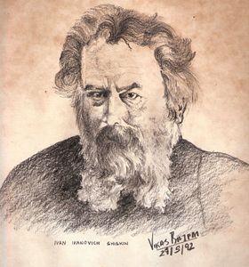 Russian Artist Ivan Ivanovic Shiskin