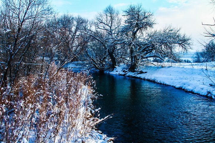 Winter on The Poudre - KonKave Media Arts