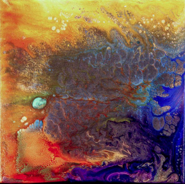 """Fire Meets Sea"" - KonKave Media Arts"