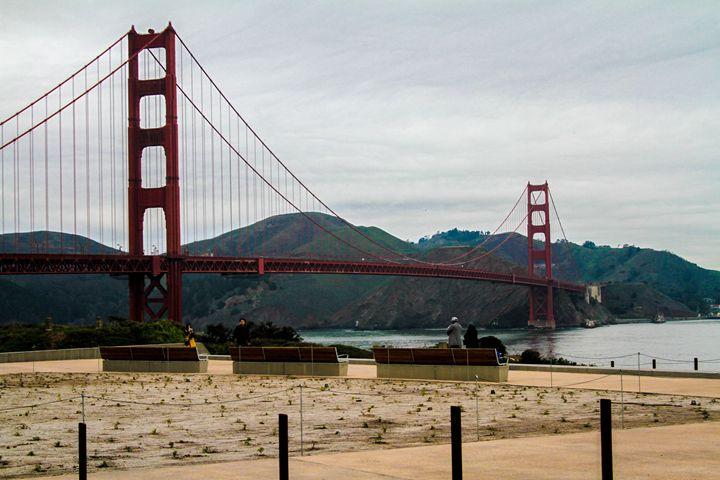 Golden Gate, Real Time - KonKave Media Arts