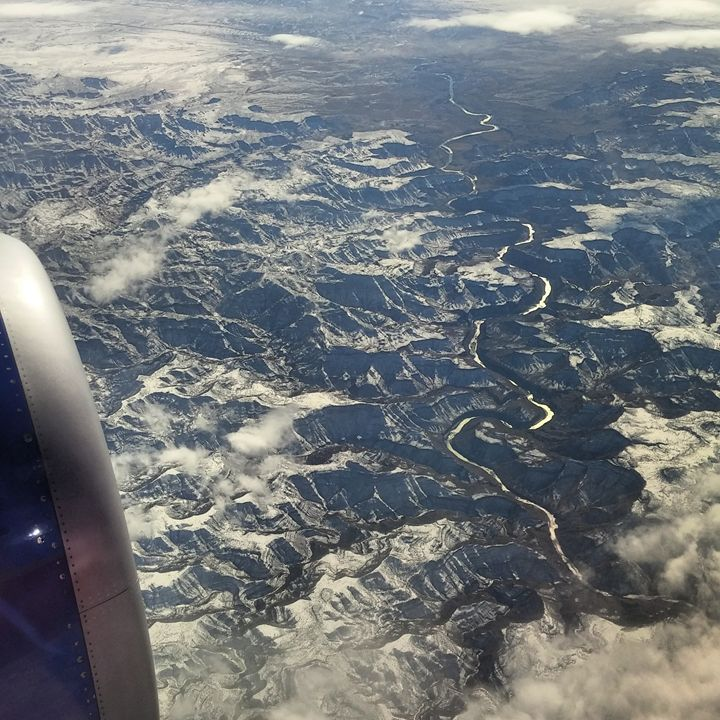 Colorado River, 35,000 ft. - KonKave Media Arts