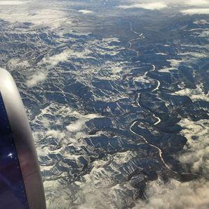 Colorado River, 35,000 ft.