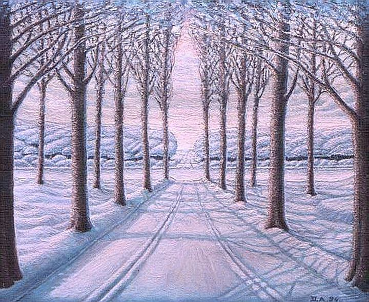 Winter road - Dragan Azdejkovic