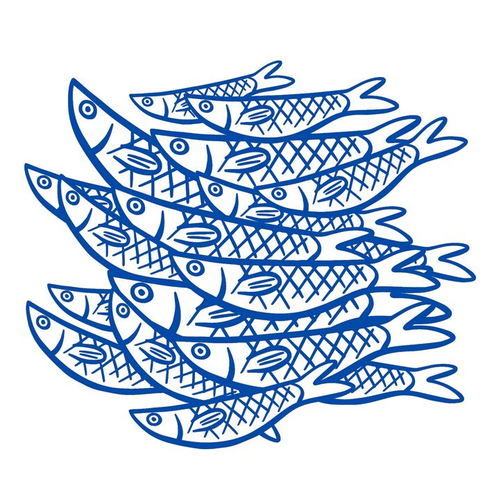 BLUE FISHES - EllaLanne