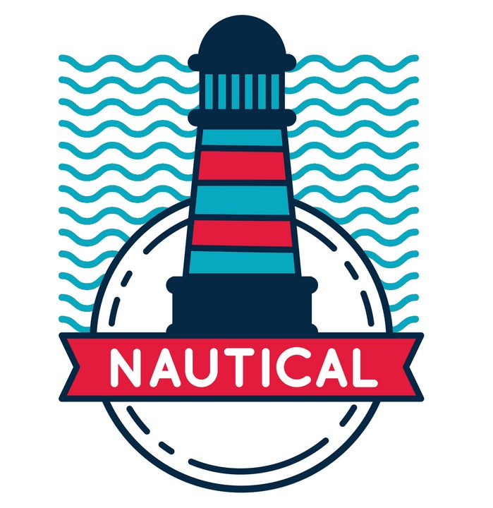 NAUTICAL LIGHTHOUSE - EllaLanne