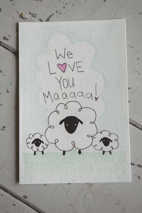 We love you Maa - Little Finch