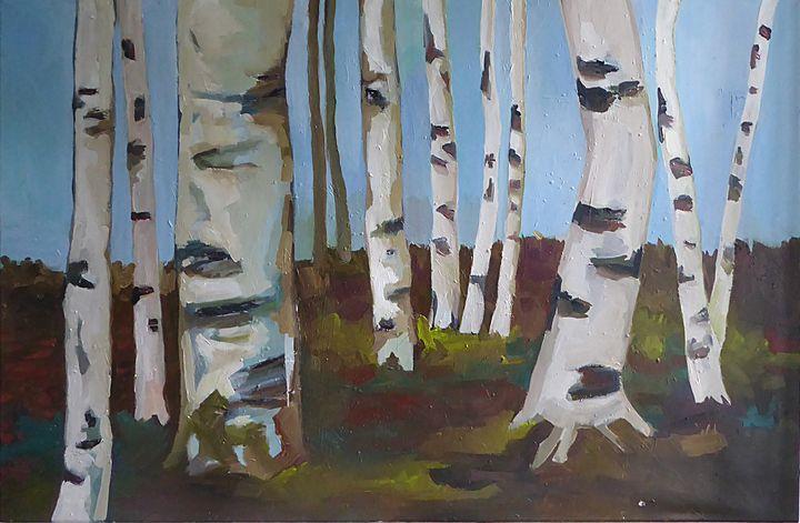 Birches - Ulli Schmitt