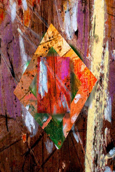Untitled abstract #2 - Orie Shafer Studios