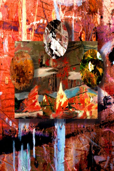 Untitled abstract #3 - Orie Shafer Studios