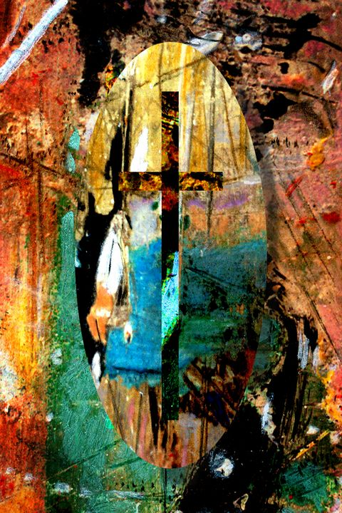 Untitled abstract #5 - Orie Shafer Studios