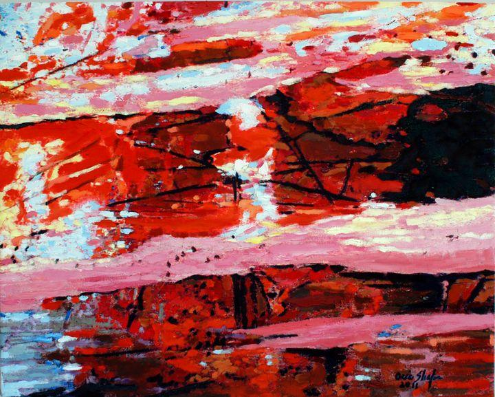 Red Mountain Range - Orie Shafer Studios