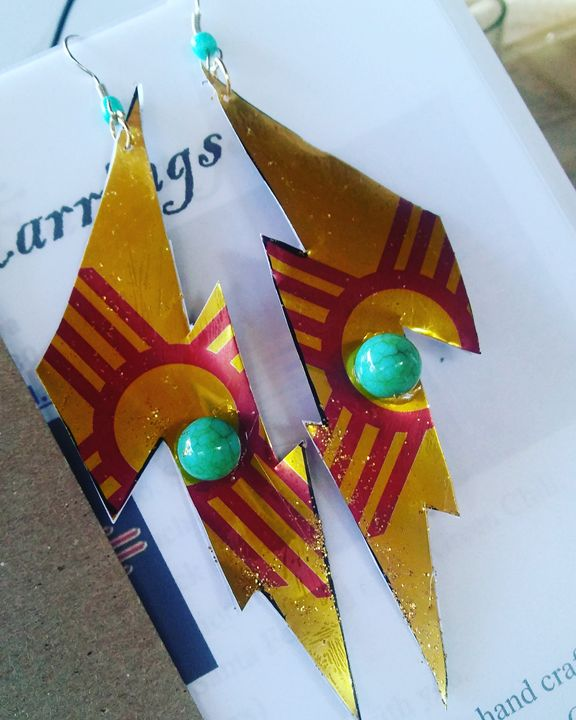 New Mexico Lightening - ZiAnaya Designs