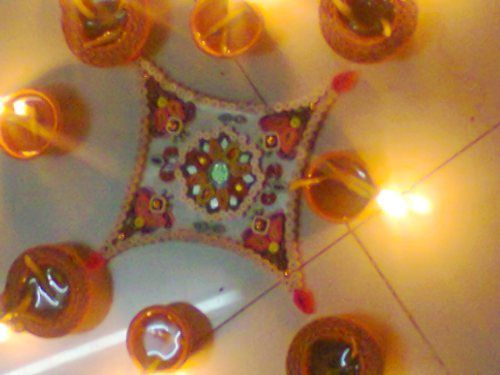 Quilling Craftwork Rangoli For Sale - ISHIKAS GALLERIA