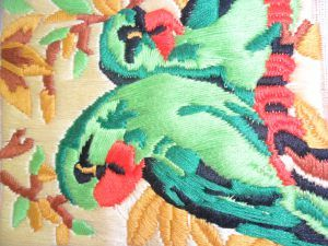 Craftwork of framed parrot for sale - ISHIKAS GALLERIA