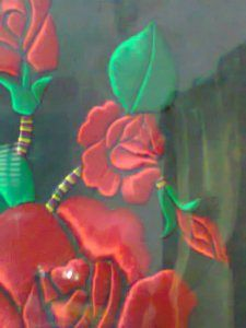 Craftwork of Velvet Rose
