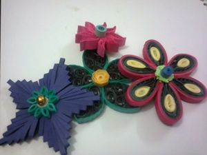 Collection of Flowers Craftwork