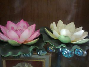 Lotus Flowers Decorative Craftwork