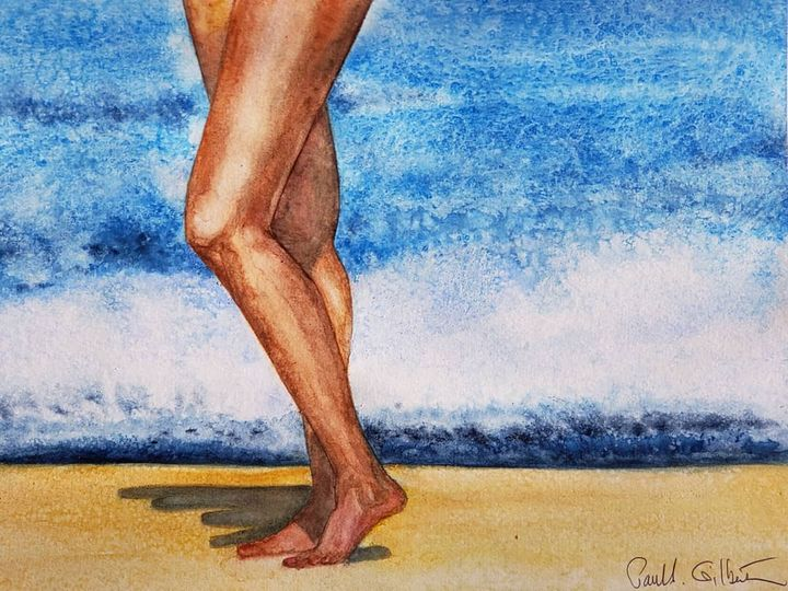 """""""Strolling the Surf"""" - Own A Gilby"""