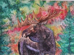 """Autumn Ridge Moose"""