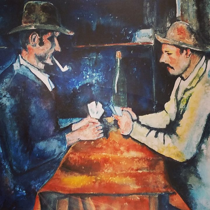 """""""Gilby vs. Cezanne The Card Players"""" - Own A Gilby"""