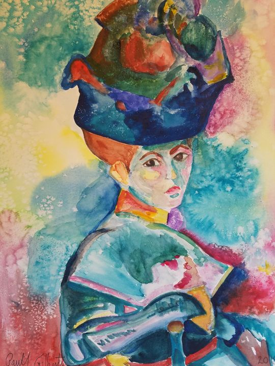 """""""Gilby vs. Matisse Woman in the Hat"""" - Own A Gilby"""