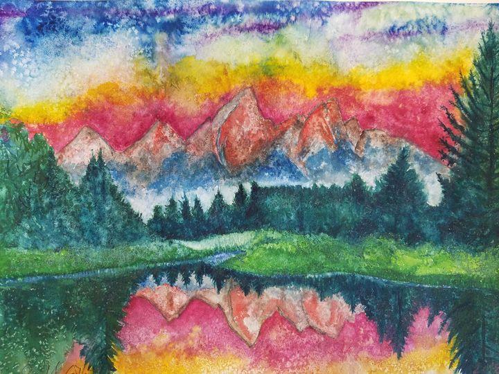 """A Teton Sunrise"" - Own A Gilby"