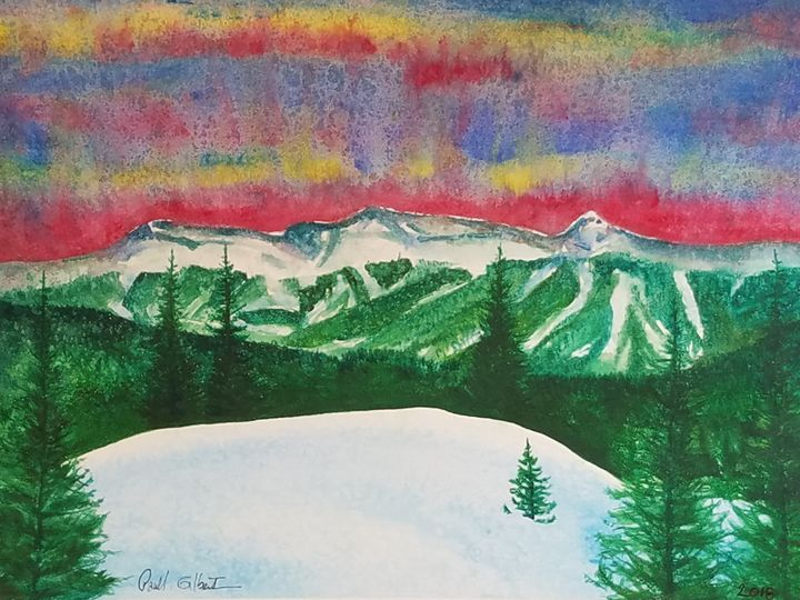 """""""Copper Mountain Skys"""" - Own A Gilby"""