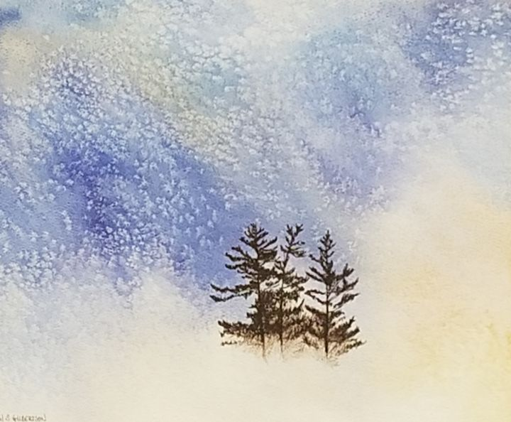 """Vintage Snowy Pines"" - Own A Gilby"