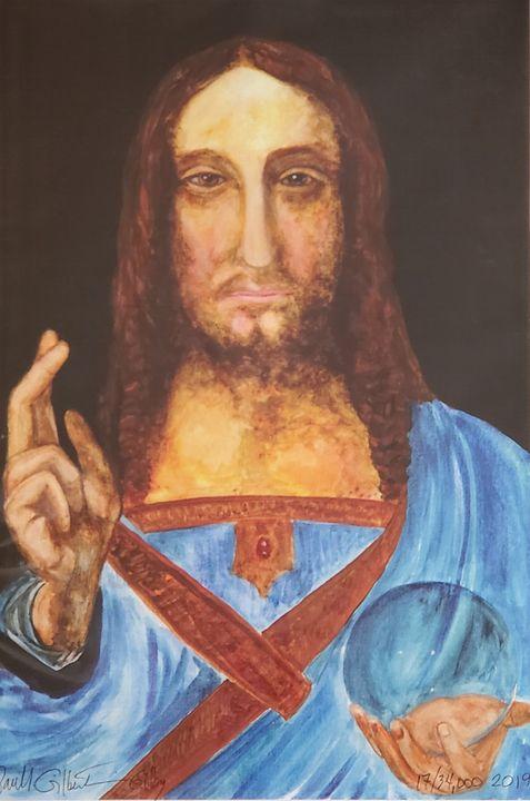 """""""Gilby vs. da Vinci... Salvatore M."""" - Own A Gilby"""