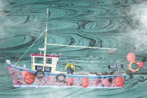 Fishing Boat from Wick Harbour