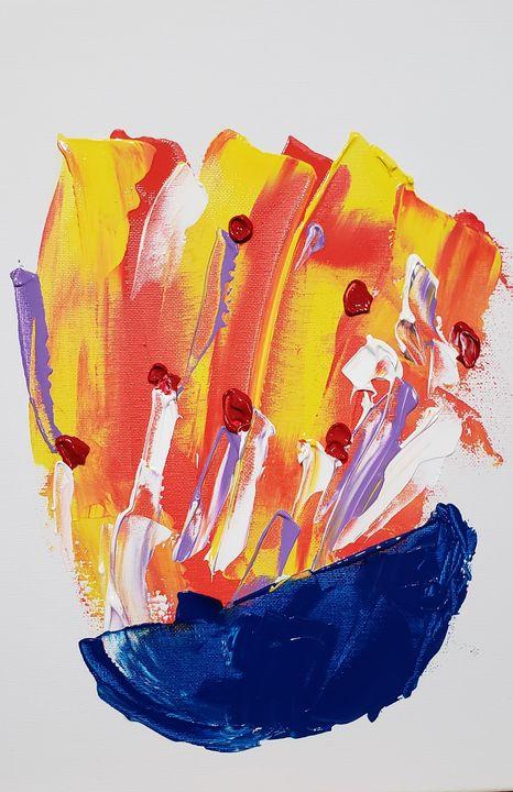 """83-1 """"A Bowl of Cherries"""" - Paintings by D Wisner"""
