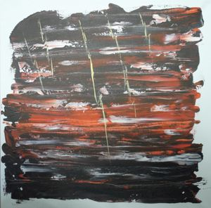 """84-8 """"Thunder Storm"""" - Paintings by D Wisner"""