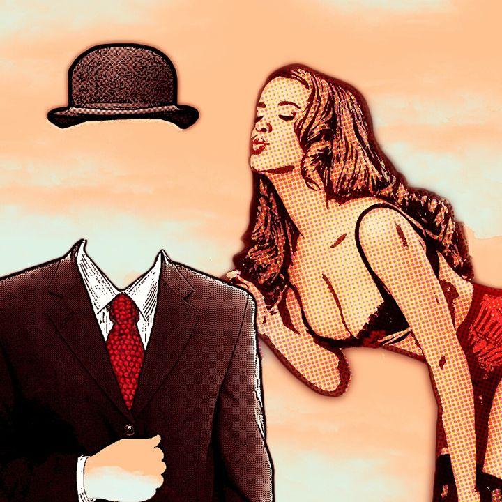 Magritte inspired PopArt - Elena Zaharia