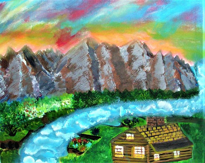 sunset in the mountains - Katarzyna Rutkowska