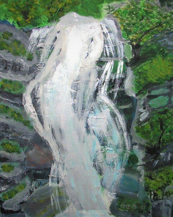 waterfall - Katarzyna Rutkowska