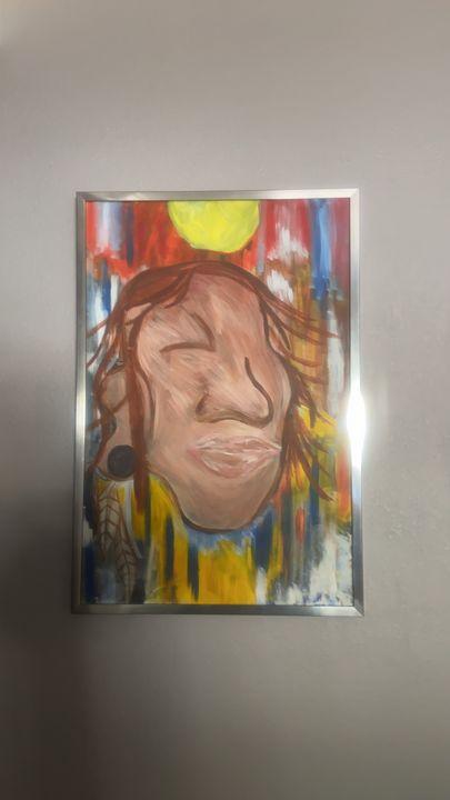 One eye Navajo man - Phil Perez jr