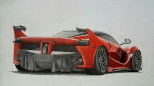 Ferrari FXX - Damautoart