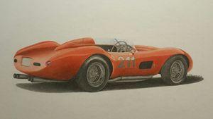 1957 Ferrari 625 TRC - Damautoart