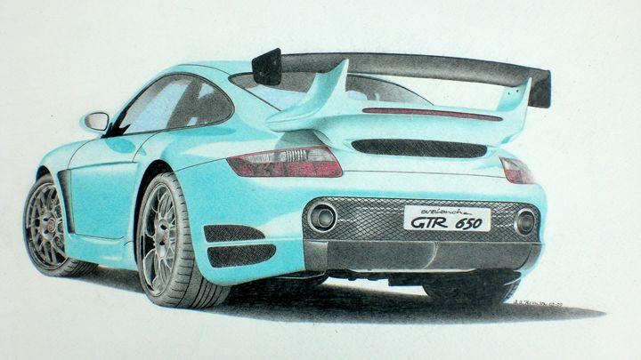 Porsche Gemballa GTR-EVO Avalanche - Damautoart