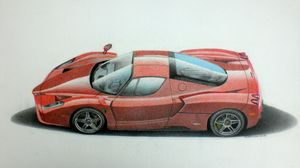Ferrari Enzo Ferrari - Damautoart