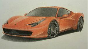 Ferrari - Damautoart