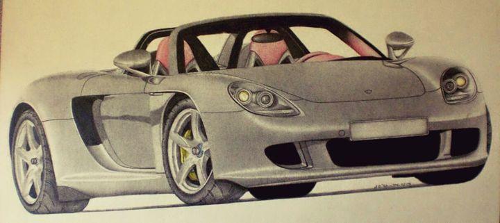 Porsche Carrera GT - Damautoart