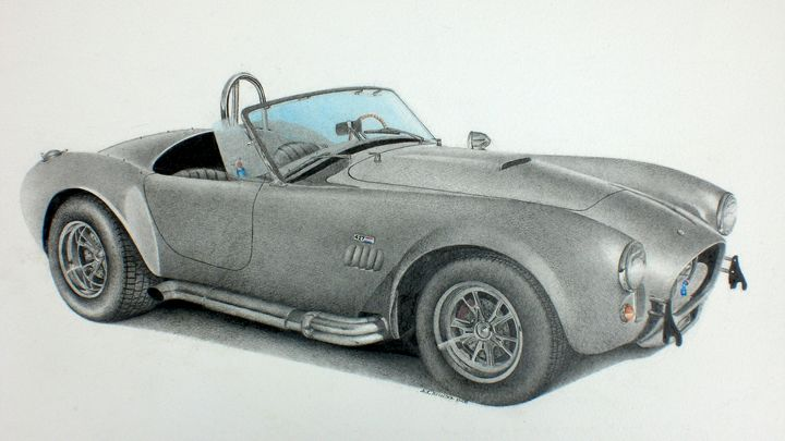 Ford Cobra Shelby - Damautoart
